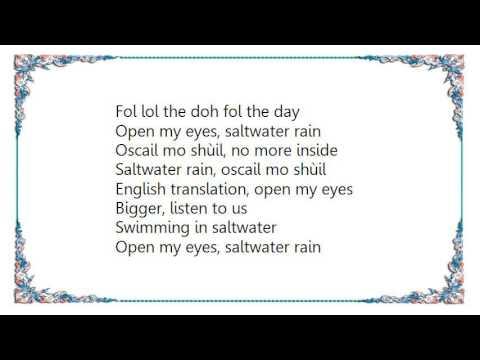 Clannad - Saltwater-Chicane Lyrics