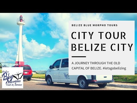 Belize City Cultural and Historical Tour with Belize Blue Morpho Tours
