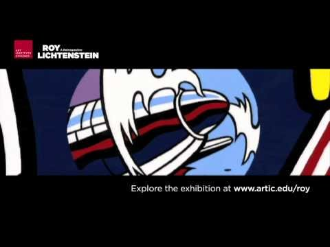 Animated Pop Art: Roy Lichtenstein music video for the Art Institute of Chicago