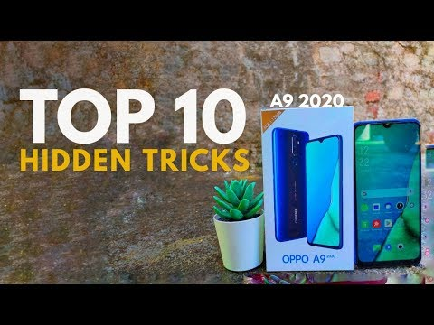 OPPO A9 2020 Top 10 Hidden Features Trick & Tips | Hindi