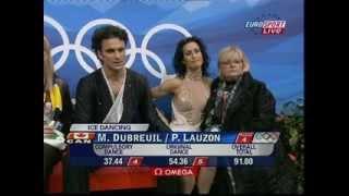 DUBREUIL & LAUZON CAN 2006 Olympics OD (British Eurosport)