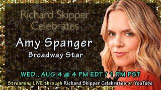 Richard Skipper Celebrates Amy Spanger