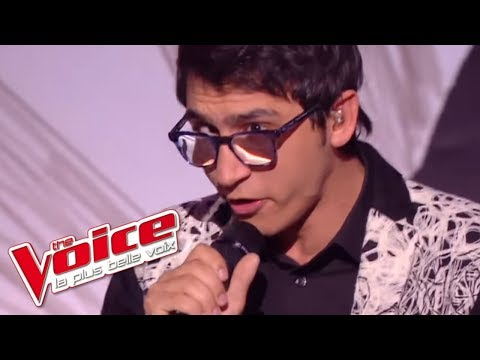 Vincent Vinel - « Take On Me » (A-ha) | The Voice France 2017 | Live