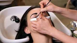 Окрашивание хной бровей и ресниц - видеоурок Brow Henna Kajal
