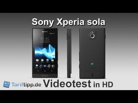 Sony Xperia Sola | Handytest in HD (deutsch)