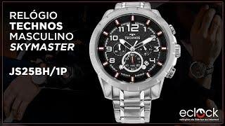 Relógio Technos Masculino Skymaster JS25BH 1P - Eclock 99cf2c0b52