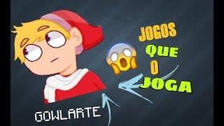 Quais os Jogos que o Goularte JOGA em seus Videos?
