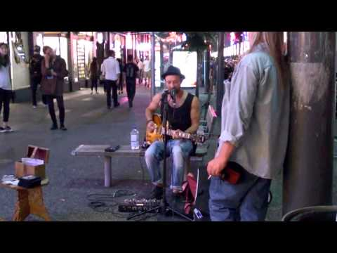 Nightlife in Vancouver on Robson and Granville St 2015
