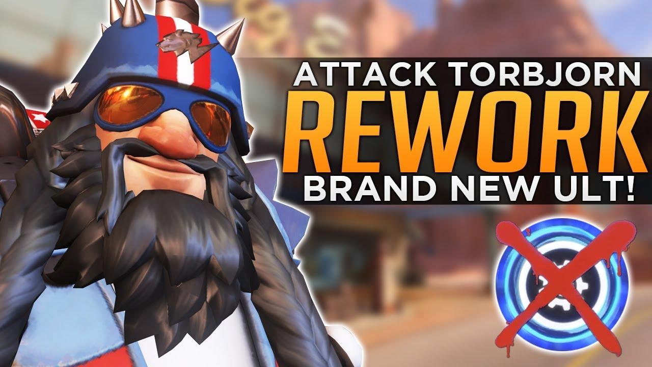 Overwatch Torbjorn Rework