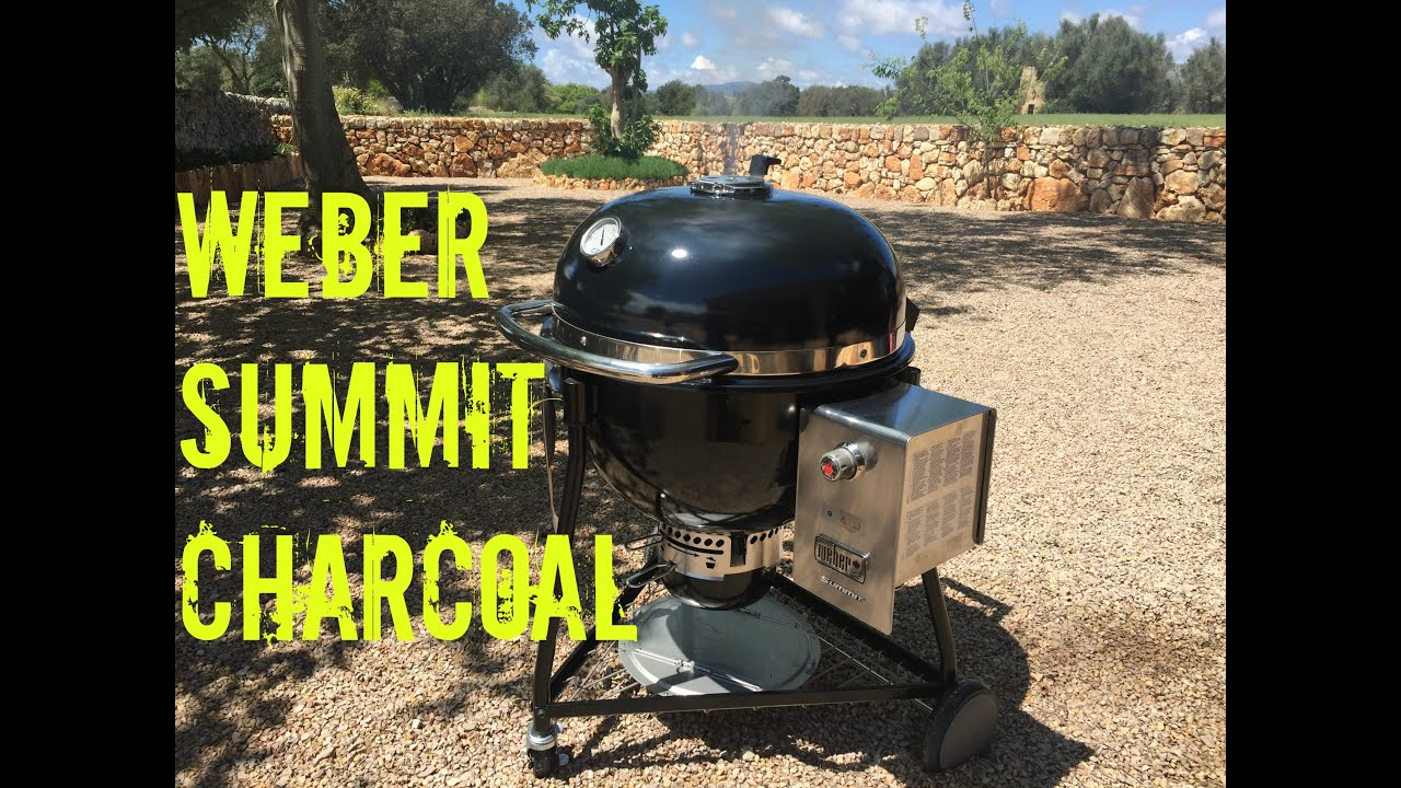 Weber Summit Charcoal Holzkohlegrill : Weber summit charcoal review and test youtube