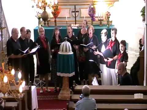 Femmineo és United Gospel Group (Finnország) koncertje Zselyken - 2010