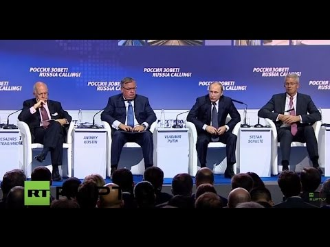 LIVE: Putin participates in VTB Capital Investment Forum  (1st part)