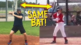 Can I Hit A Home Run With My First Ever Baseball Bat? IRL Baseball Challenge