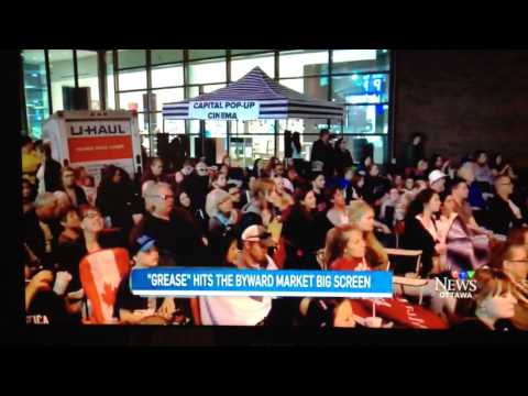 Capital Pop-Up Cinema on CTV Ottawa