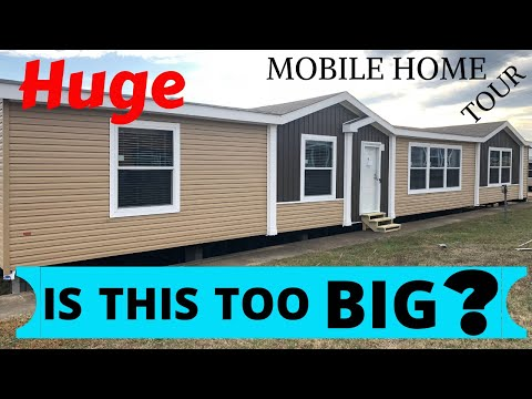 Is This Home Too BIG You Think? 32X80 4 Bedroom By Cappaert Housing | Home Tour