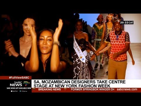 'Made in Africa' designers take on New York Fashion Week