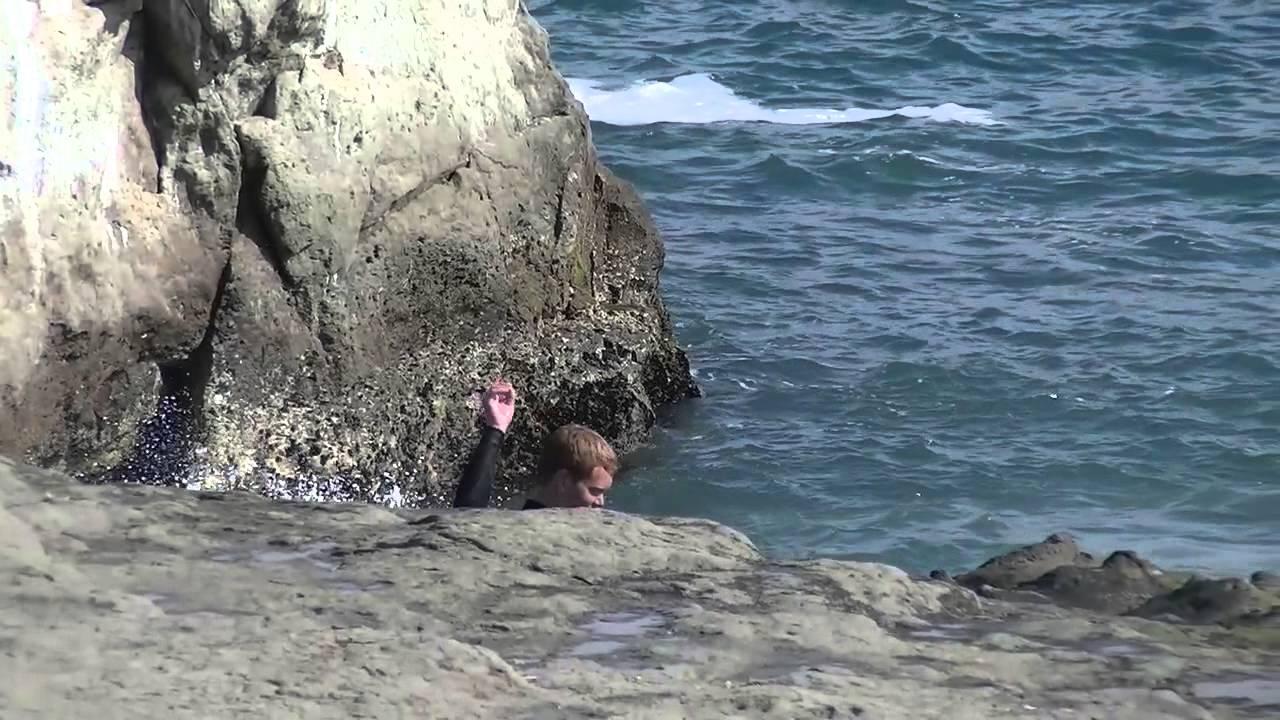 Garden Of Eden Santa Cruz Cliff Jumping