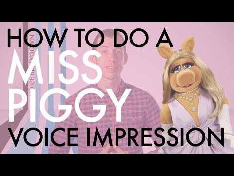 "Ep. 2 - ""How to do a Miss Piggy Voice Impression"" - Voice Breakdown Muppet Series 1"