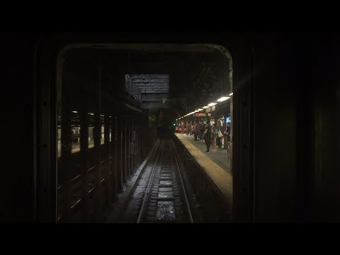 NYC Subway HD 60fps: R62A 1 Express Train Cab Window RFW Ride (96th St. to Chambers St.) 6/4/17