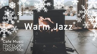 🎄⛄️ Christmas Songs Cover Medley with Fireplace - Winter Jazz Music for Christmas Mood