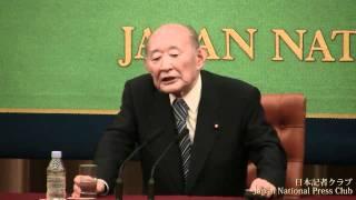 藤井裕久 民主党税調会長 記者会見 2011.09.22