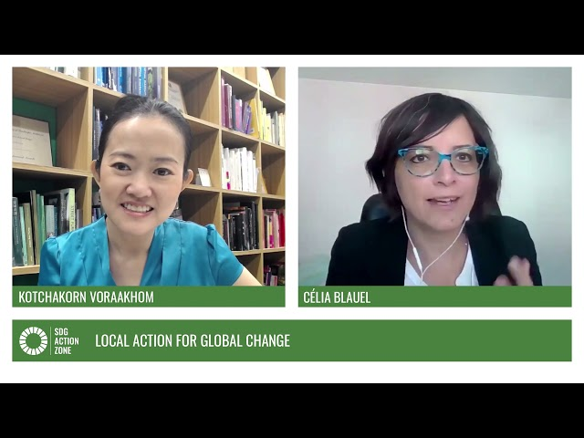 In Conversation – Local Action for Global Change