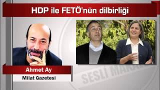Ahmet Ay  HDP ile FETÖ'nün dilbirliği