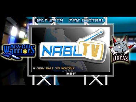 NABL TV  - Miss Lou Warriors at Dallas Hoyas