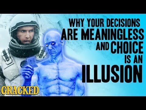 5 razones convincentes por las que el libre albedrío no existe