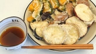 How To Make Tempura With Vegetables