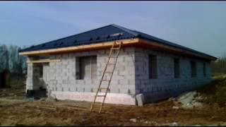 Строительство одноэтажного жилого дома из газосиликатного блока.(, 2016-05-15T11:26:33.000Z)