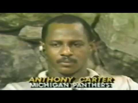 USFL Control Central 1984 - Interview with Anthony Carter About His Injury