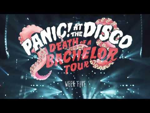 Panic! At The Disco - Death Of A Bachelor Tour (Week 5 Recap)