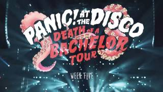 Repeat youtube video Panic! At The Disco - Death Of A Bachelor Tour (Week 5 Recap)