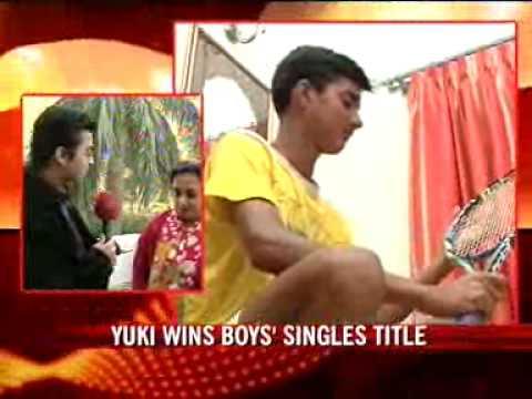 Yuki wins boys' singles title at Aus Open
