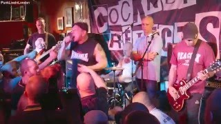 COCKNEY REJECTS - 100 CLUB 2016. ALL THEIR HITS! Full HD.