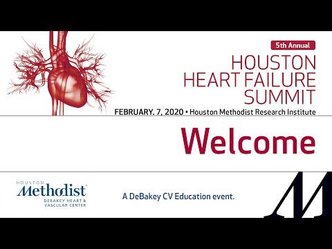 Houston Heart Failure Summit (February 7, 2020) LIVESTREAM RECORDING
