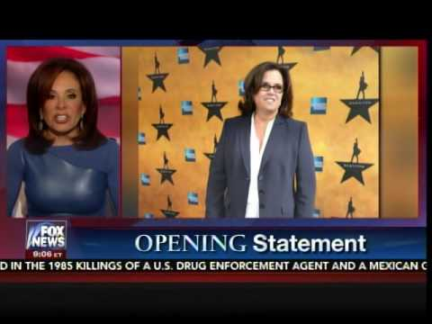 Judge Jeanine Pummels 'Communist' Hollywood Elitist Rosie O'Donnell