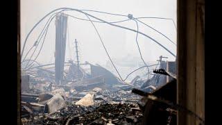 Fire destroys 11-acre auto parts warehouse in Montcalm County
