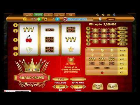 Grand Crown Slots | Black Pearl Casino | Free Facebook Online Game