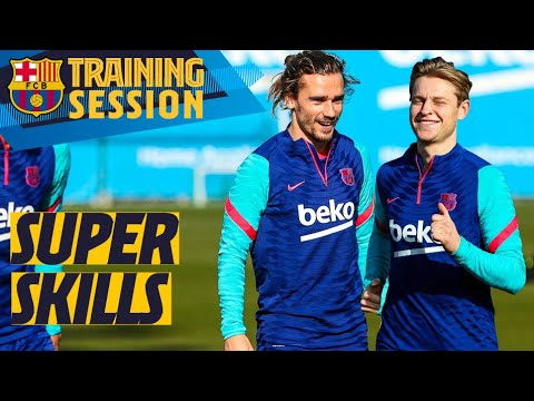 🔥 SKILLS on show in training!! 🤩