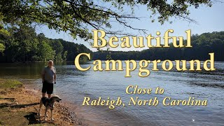 Falls Lake State Ręcreation Area- Holly Point Campground-Ruff Road Campground Review Wake Forest, NC