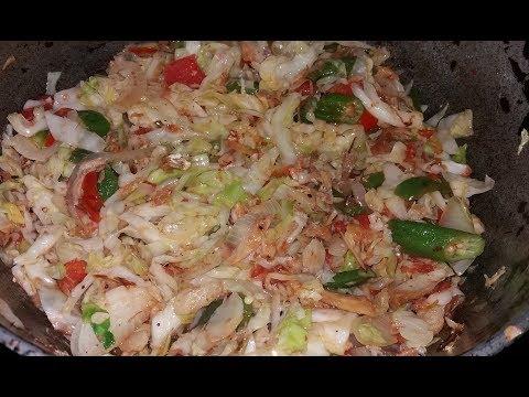 Cabbage Stir Fry Recipe | Jikoni Magic | Doovi