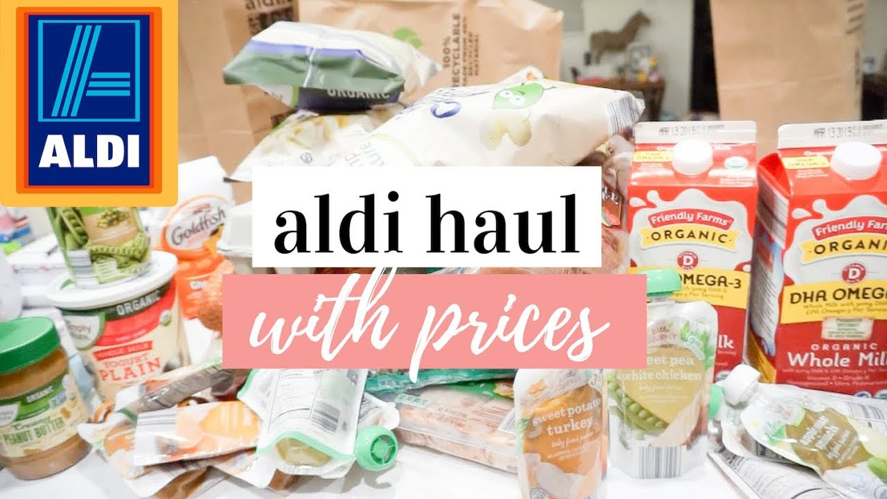 ALDI HAUL 2019 WITH PRICES | AFFORDABLE GROCERY HAUL
