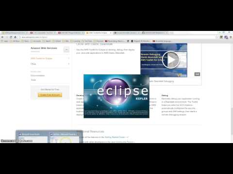 AWS Toolkit for Eclipse Installation
