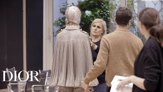 Maria Grazia Chiuri's Interview for Dior Spring-Summer 2019 Haute Couture show in Dubai
