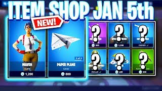 Fortnite Item Shop! FINALLY MAVEN SKIN! Daily & Featured Items! (January 5th 2019)
