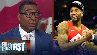 Kawhi plans to meet with Lakers, Clippers & Raptors - Cris Carter reports | NBA | FIRST THINGS FIRST