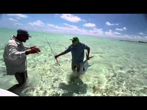 Cuba Saltwater Permit Flyfishing, Jardines del Rey, Bonefish, Tarpon Paradise 480p