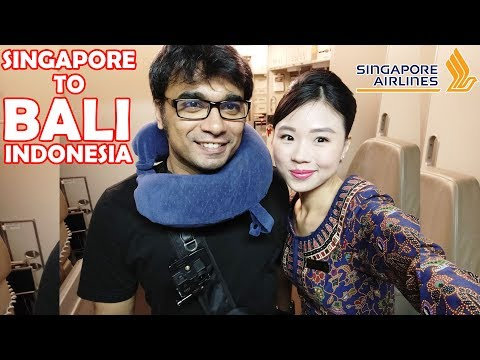 FLIGHT REVIEW: SINGAPORE AIRLINES, 👍OUTSTANDING SERVICE, SINGAPORE TO BALI, INDONESIA